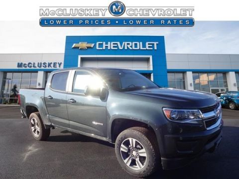 2017 Chevrolet Colorado Work Truck RWD 4D Crew Cab