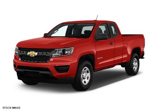 2017 Chevrolet Colorado Work Truck RWD 4D Extended Cab